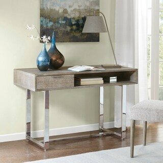 Madison Park Emily Brown/Silver Writing Desk