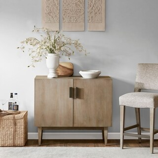 Madison Park Gilman Grey Bar Cabinet
