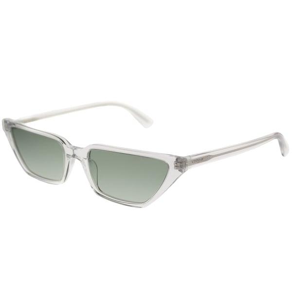 1f02db8c797e Vogue Eyewear Cat-Eye VO 5235S Gigi Hadid For Vogue W7458E Women  Transparent Frame Green