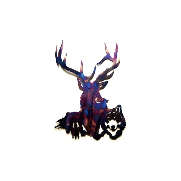 Shop Wildlife Metal Wall Art - On Sale - Free Shipping Today ...