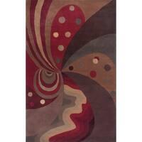KAS Signature Jeweltone Painter's Dream Rug - 2'6 x 4'6