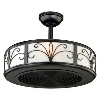 "Vaxcel Veranda 21"" Ceiling Fan New Bronze"