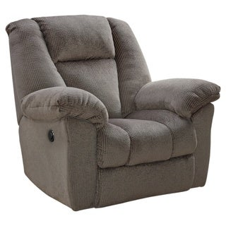 Nimmons Contemporary Power Recliner Taupe
