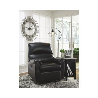 Signature Design by Ashley Black Crozier Power Recliner