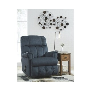 Signature Design by Ashley Midnight Craggly Rocker Recliner