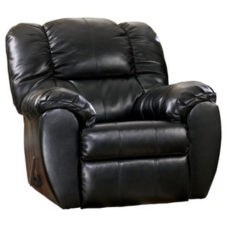 Dylan Contemporary Rocker Recliner Onyx
