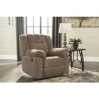 Signature Design by Ashley Cocoa Wokhorse Rocker Recliner