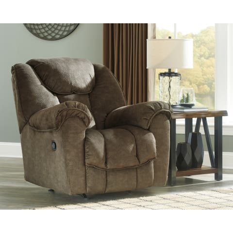 Signature Design by Ashley Earth Capehorn Rocker Recliner