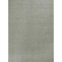 KAS Porto Grey  Heather Herringbone Rug - 8'8 x 12'