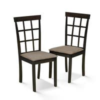 Furinno Helena Dining Chair Set (2 Chair Set)