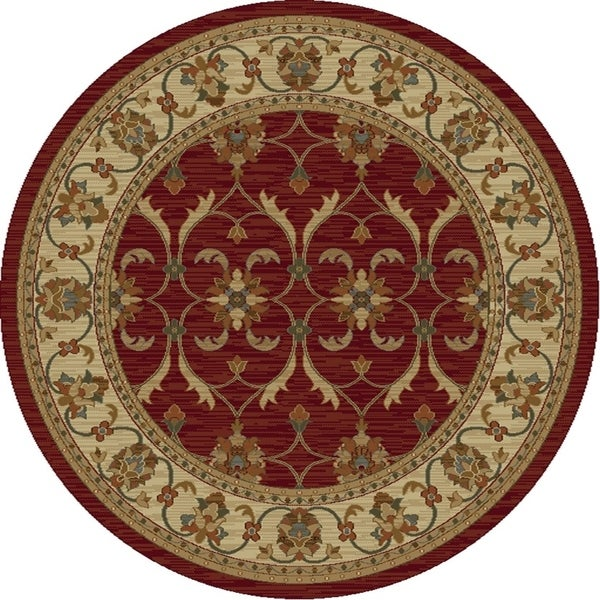 Lifestyles Red/Ivory Agra - 5'3