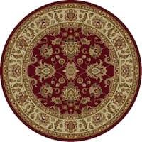 Lifestyles Red/Ivory Kashan - 5'3