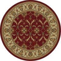 Lifestyles Red/Ivory Agra - 7'10