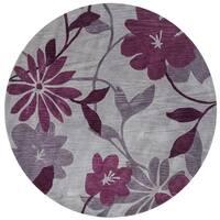 Bali Grey/Plum Elegance - 5'6