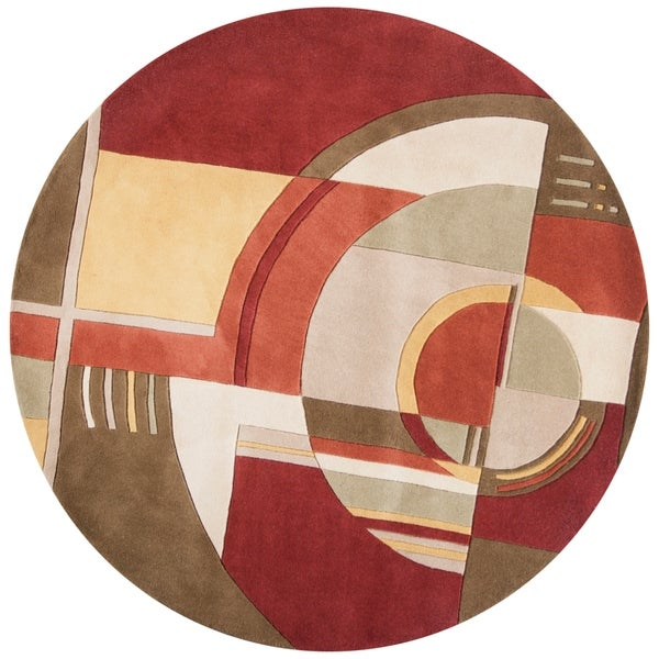 Signature Rust/Coffee Art Deco - 5'6
