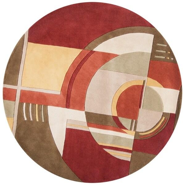 Signature Rust/Coffee Art Deco - 7'6
