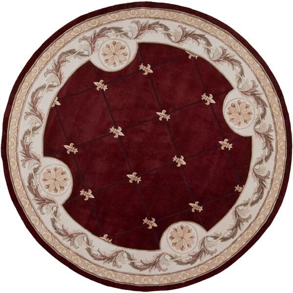 Jewel Red Fleur-De-Lis - 7'9