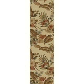 Lifestyles Ivory Tropical - 2'3 x 7'7