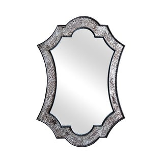 Reeve Mirror - Antique Silver - 26x40