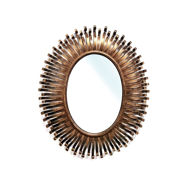 "Handmade Copper Ophelia Mirror - 28"" x 34"""