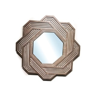 "Handmade Rusty Arden Mirror 32"" x 32"""