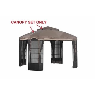 Replacement Gazebo top to L-GZ120PST-2D-K1K2