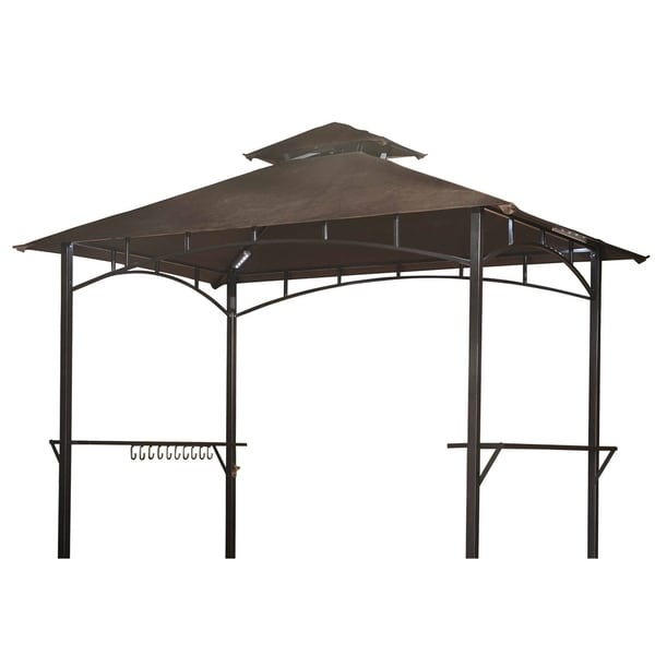 Sunjoy Replacement Gazebo Top for Gazebo Model L-GG001PST-D (As Is Item). Opens flyout.