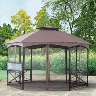 Replacement Gazebo top to L-GZ076PST-1A-4-S2