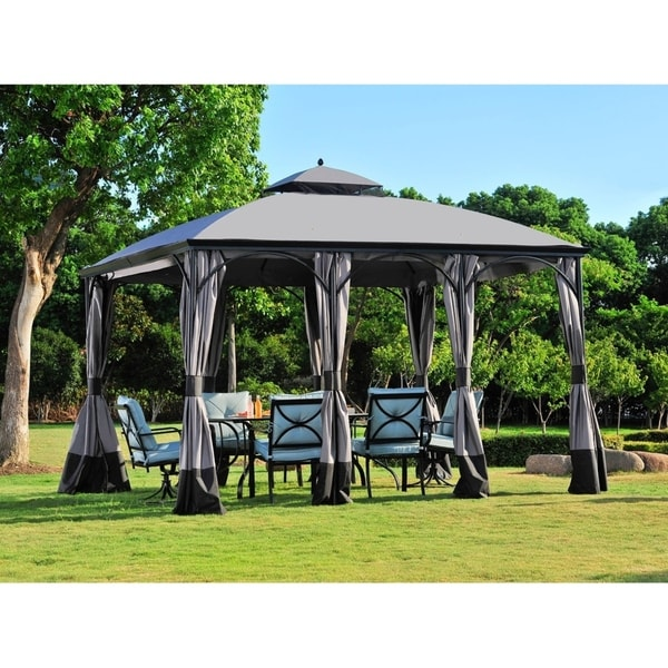 Replacement Gazebo top to L-GZ212PCO-B-QP-Deluxe