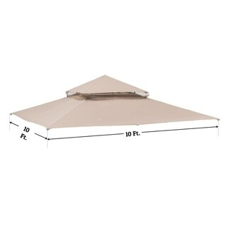Sunjoy Replacement Canopy for Target Madaga 10'x10' Gazebo Set