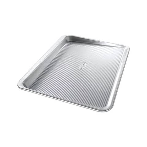 USA Pan 18 in. L x 14 in. W Cookie Sheet Silver