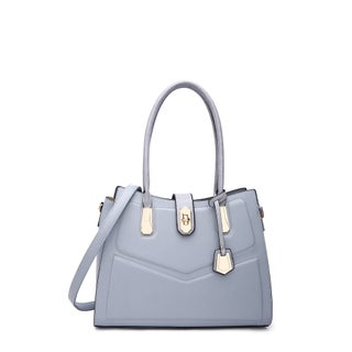 MKF Collection by Mia K Farrow Posh Satchel Bag (Option: LIGHT BLUE)