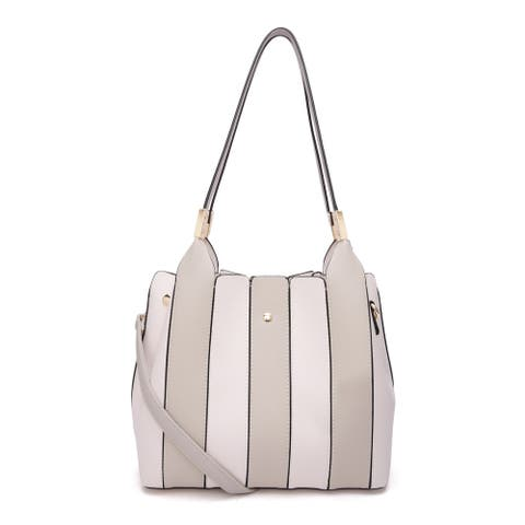 MKF Collection Leah Tote/Shoulder with Cosmetic Bag by Mia K Farrow