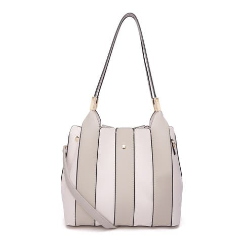 MKF Collection Leah Tote/Shoulder with Cosmetic Bag by Mia K.