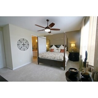 "Vaxcel Tali LED 52"" Ceiling Fan Oil Burnished Bronze"