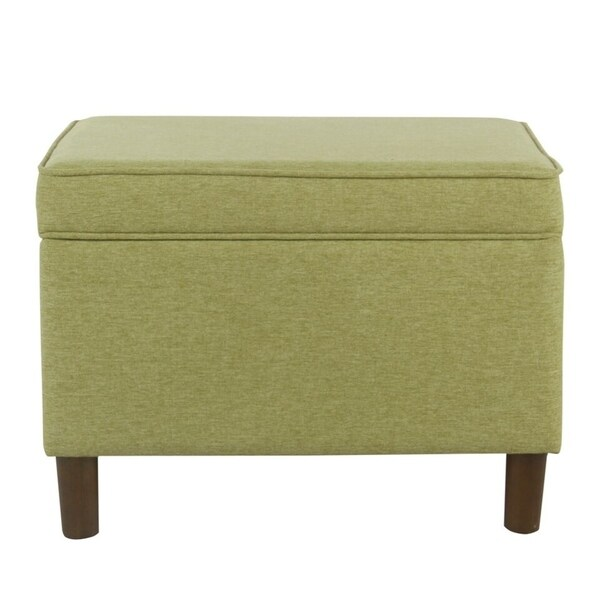 Homepop Storage Bench Reviews: Shop HomePop Large Green Storage Bench