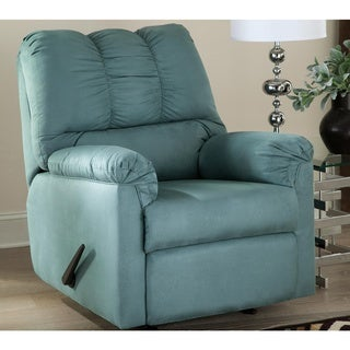 Darcy Contemporary Sky Rocker Recliner