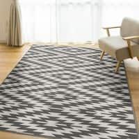 Ladona Grey Area Rug by Orian Rugs - 5' x 7'