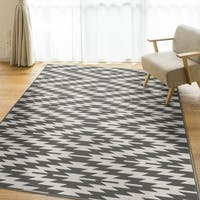 Ladona Grey Area Rug by Orian Rugs - 7'7 x 10'