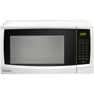 1.1 Cu. Ft. 1000W Countertop Microwave Oven in White