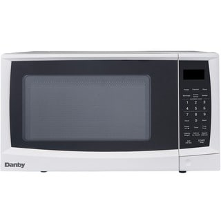0.7 Cu. Ft. 700W Countertop Microwave Oven in White