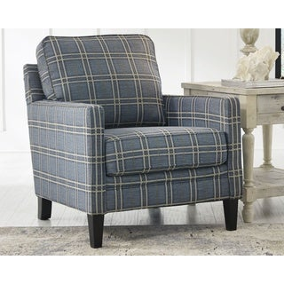 Signature Design By Ashley Traemore Blue Accent Chair