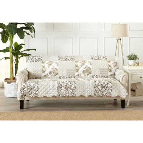 Buy Tan Sofa & Couch Slipcovers Online at Overstock | Our Best ...