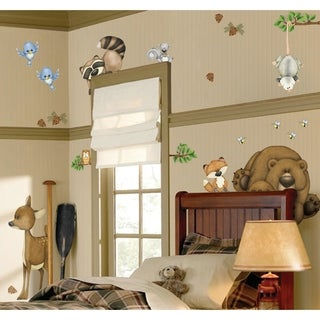 In the Woods Super Jumbo Applique Wall Decal