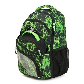High Sierra Wiggie Lunch Kit Backpack, Lime Fire/Black/Lime