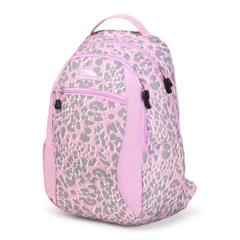 High Sierra Curve Backpack, Shadow Leopard/Iced Lilac