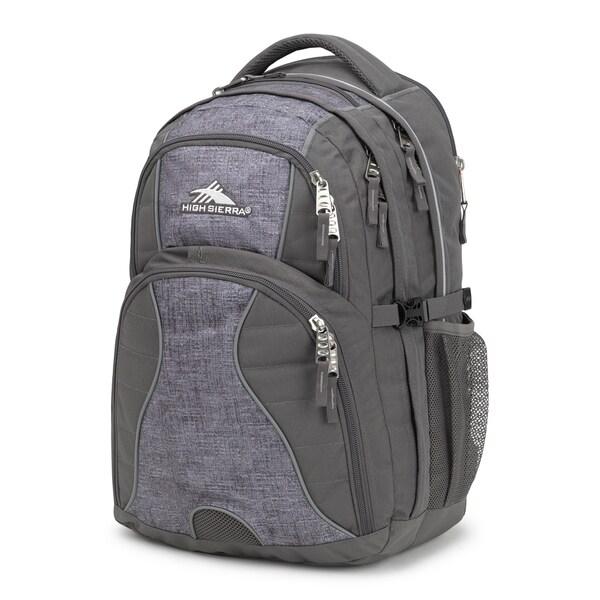 8635f9e9e Shop High Sierra Swerve Laptop Backpack, Slate/Woolly Weave - Free ...