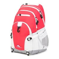 High Sierra Loop Backpack, Paradise Pink/White/Ash