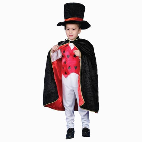 Deluxe Magician Dress-up Costume
