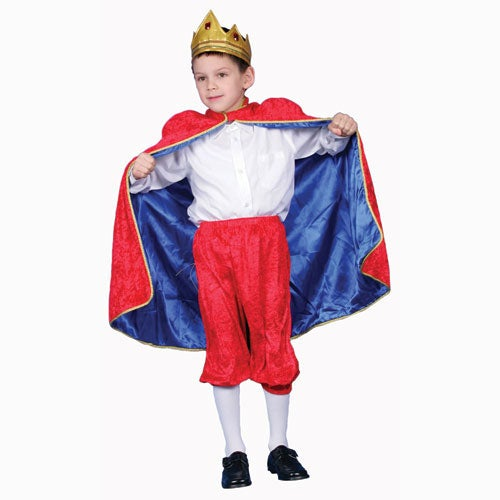 Deluxe Royal King Polyester Costume (Medium), Boy's, Size...